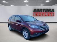2013 Honda CR-V Basque Red Pearl II EX-L Rear Backup