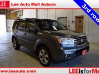 2013 Honda Pilot EX-L Gray Bluetooth, Hands free