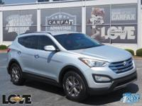 gray Leather.Moonstone 2013 Hyundai Santa Fe Sport FWD