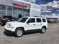 CARFAX One-Owner. Bright White 2013 Jeep Patriot Sport