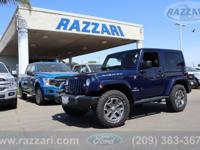 2013 Jeep Wrangler Rubicon 2D Sport Utility True Blue