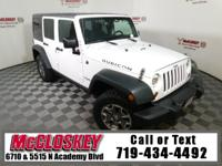 Low miles 2013 Jeep Wrangler Unlimited Rubicon 4x4 with