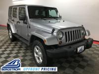 2013 Jeep Wrangler Unlimited Sahara 4WD Billet Silver
