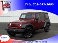 Deep Cherry Red Crystal 2013 Jeep Wrangler Unlimited