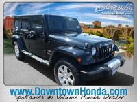 Black 2013 Jeep Wrangler Unlimited Sahara 4WD 5-Speed