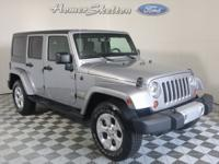 New Price! Clean CARFAX. Silver 2013 Jeep Wrangler