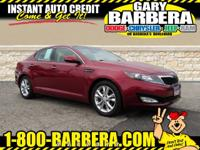 Take a look at our extraordinary 2013 Kia Optima EX