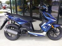 I currently have a pair of 2013 Kymco Super 8 50cc