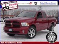 Body Style: Pickup Exterior Color: Deep Cherry Red