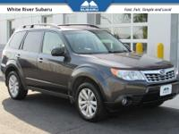 Leather, 4 Wheel Drive, 2013 Subaru Forester 2.5X Dark