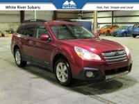 Heated Seats, Leather, 4 Wheel Drive, Outback 2.5i