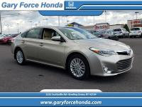Clean CARFAX. Gold 2013 Toyota Avalon Hybrid Limited