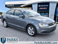 2013 Gray Volkswagen Jetta CARFAX One-Owner.Contact us