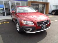THIS FLAMENCO RED XC70 AWD WAGON HAS ONLY 47,000 MILES!