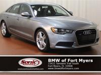 This 2014 Audi A6 3.0T Premium Plus comes complete with