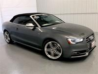 Monsoon Gray Metallic 2014 Audi S5 3.0T Premium Plus