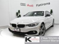 CARFAX 1-Owner, Dealer Inspected, 435i xDrive, 2D
