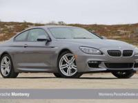 640i trim. CARFAX 1-Owner, ONLY 39,205 Miles! EPA 32