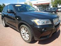 Black 2014 BMW X3 xDrive28i AWD 8-Speed Automatic