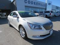 LOW MILES, This 2014 Buick LaCrosse Leather will sell