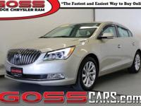 Silver Metallic 2014 Buick LaCrosse Leather Group, FWD,