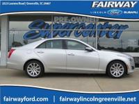 *Local Trade*, *Low Miles*, AWD. 2014 Cadillac CTS 2.0L