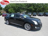 2014 Black Raven Cadillac XTS 6-Speed Automatic Backup