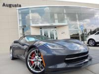 2014 CHEVROLET CORVETTE STINGRAY Z51 2LT, CYBER GRAY