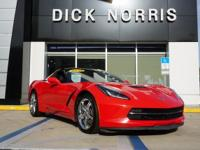 2014 CHEVY CORVETTE STINGRAY! 2 DOOR COUPE! TORCH RED