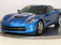 2014 Chevrolet Corvette Stingray Laguna Blue Tintcoat
