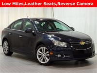 blue ray metallic 2014 Chevrolet Cruze LTZ FWD 6-Speed