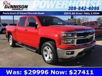 New Price! Victory Red Metallic 2014 Chevrolet
