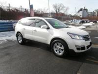 This is a clean Carfax, Traverse AWD with the 2LT