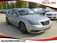 We are excited to offer this 2014 Chrysler 200. When