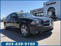New Price! Clean CARFAX. Pitch Black 2014 Dodge Charger