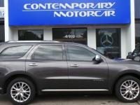 2014 Dodge Durango Citadel Grey AWD. Odometer is 13657