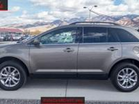 This 2014 Kodiak Brown Ford Edge Limited Edition is in