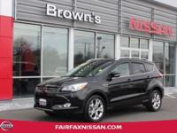 2014 FORD ESCAPE TITANIUM ** ONE OWNER ** LOCAL TRADE