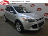 ** ONE OWNER ** 2014 Ford Escape Silver Titanium FWD