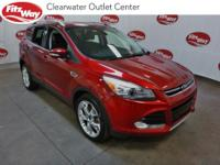 ** NAVIGATION** 14 Ford Escape Red Titanium FWD 6-Speed