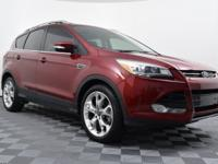 Ruby Red Tinted Clearcoat 2014 Ford Escape Titanium FWD