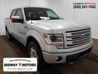 Recent Arrival! 4WD. Silver 2014 Ford 4D SuperCrew