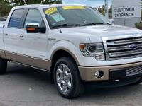 CARFAX One-Owner. Clean CARFAX. White 2014 Ford F-150