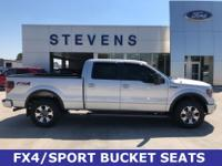 2014 Ford F-150 FX4 4WD 6-Speed Automatic Electronic