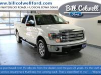 Oxford White 2014 Ford F-150 Lariat 4WD 6-Speed