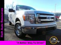From mountains to mud, this White 2014 Ford F-150 XL