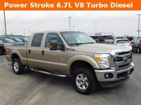New Price! Champagne 2014 Ford F-250SD XLT 4WD