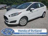 White 2014 Ford Fiesta S FWD 6-Speed Automatic 1.6L I4