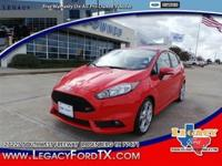 Body Style: Hatchback Exterior Color: Race Red Interior