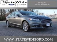 Body Style: Sedan Exterior Color: Sterling Gray